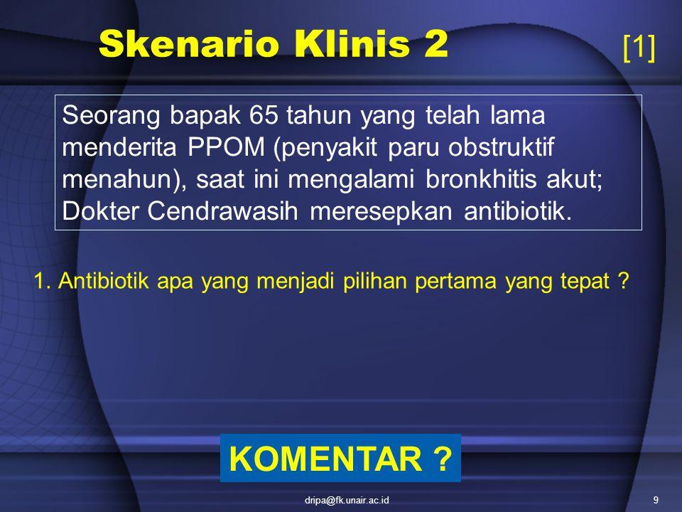 Skenario Klinis 2 [1] KOMENTAR